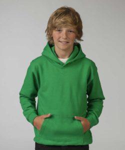 Зеленая детская толстовка
