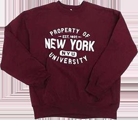 Свитшот с логотипом университета