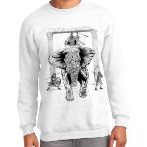 Свитшот со слоном